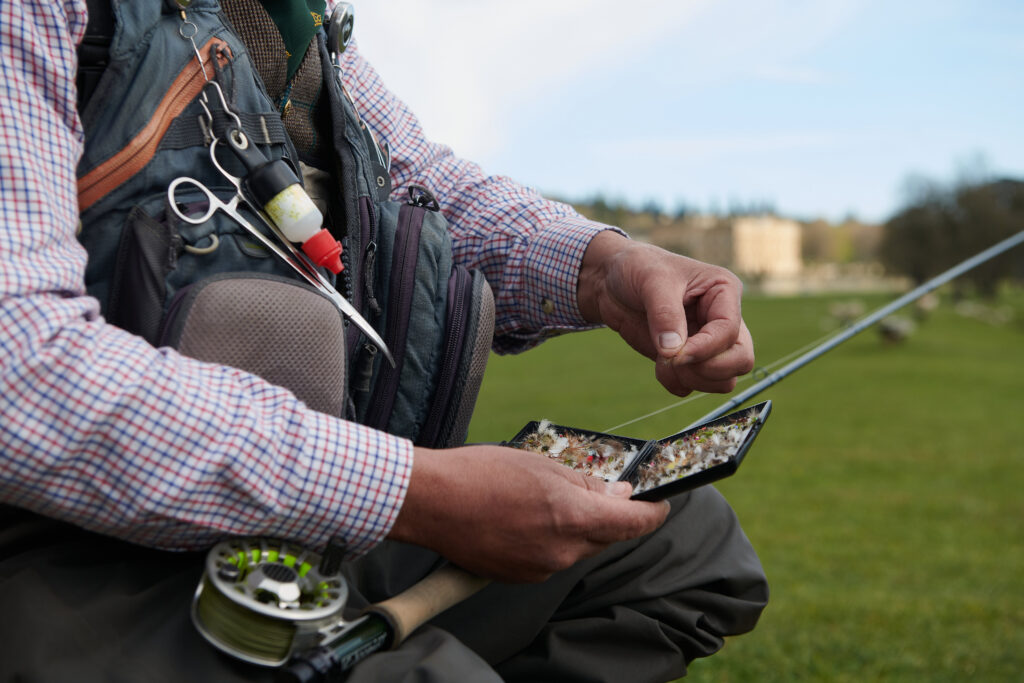 Fly-fishing on the Chatsworth Estate
