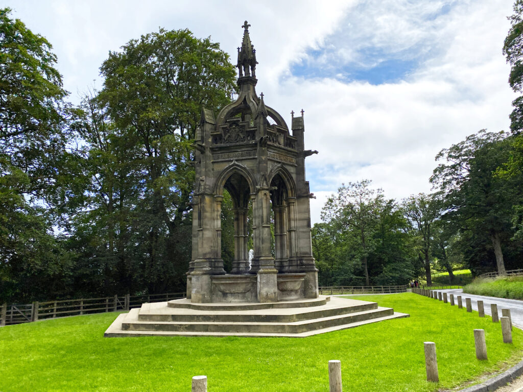 Memorial Fountain, Bolton Abbey, North Yorkshire, UK