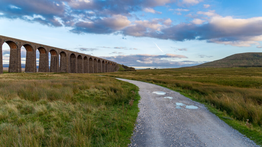 Ribblehead Viaduct, near Ingleton, Yorkshire Dales, North Yorkshire, UK