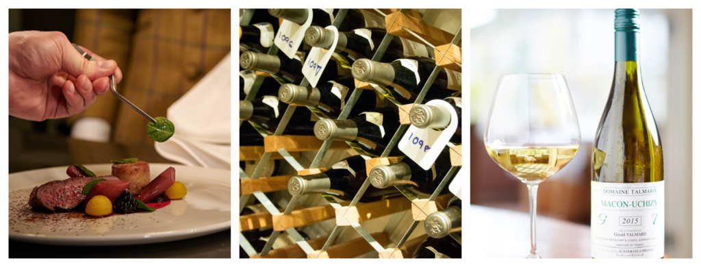 Wine pairing at the Cavendish Hotel Baslow